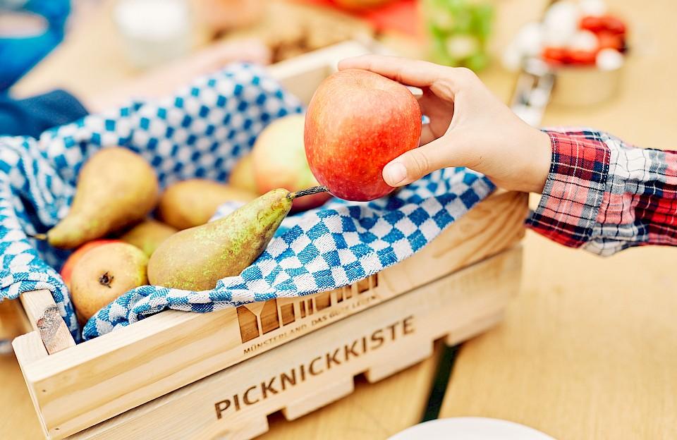 Picknick-Päckchen statt Suppenteller