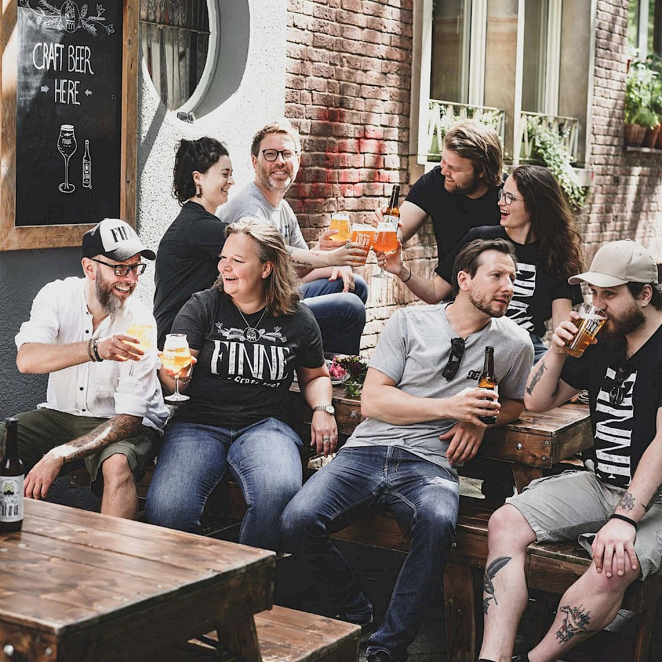 Craft Beer made in Münsterland - Finne Brauerei aus Münster.