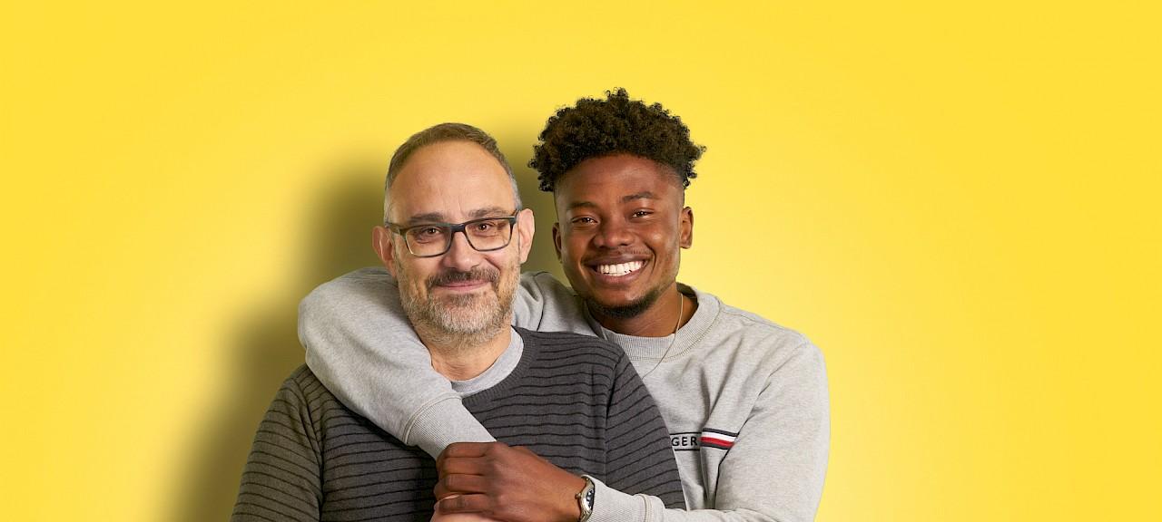 Aus(bildungs)checker: Marvin Alex-Rohde und sein Vater Rainer