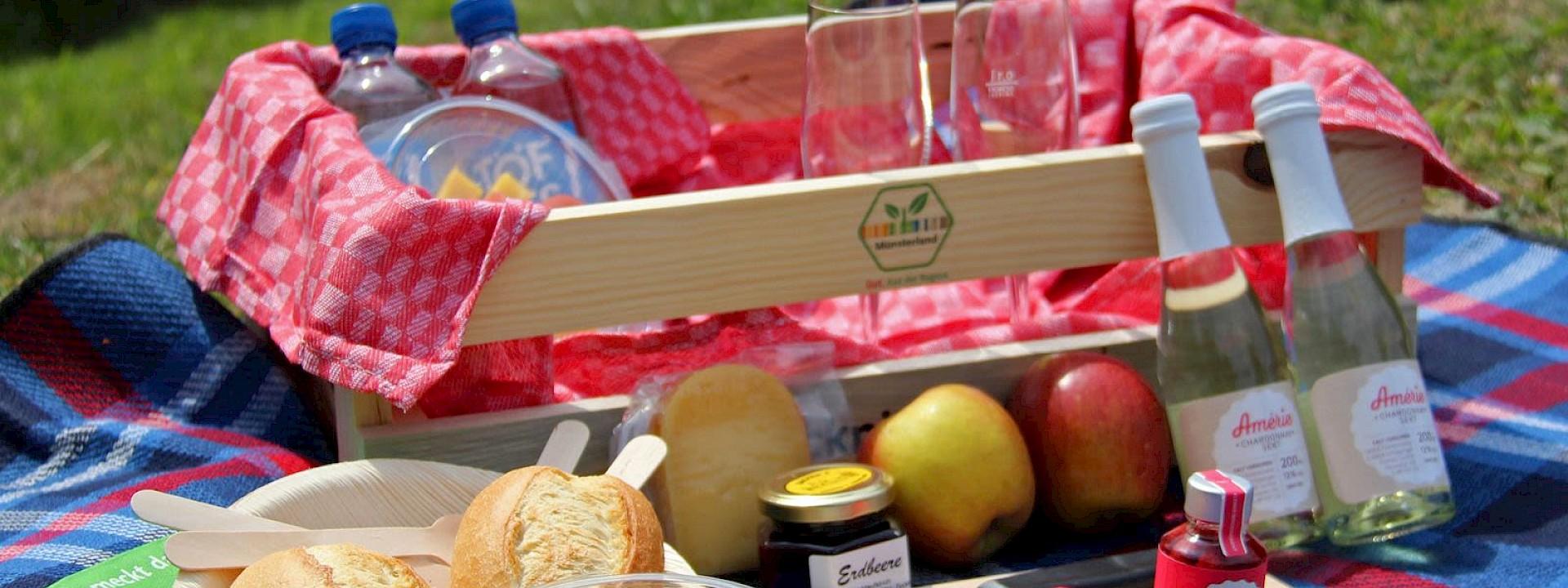 Dein Picknickkorb - bis vor die Haustür Picknick vom Münsterland-Siegel