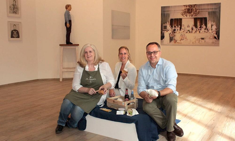 Picknick in der Kunsthalle