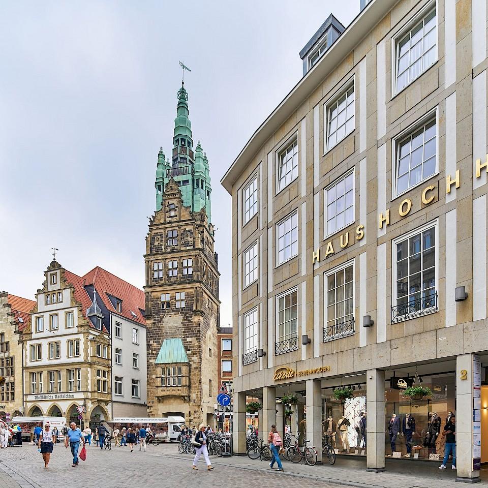 Münsterland: Wohnen in der Stadt