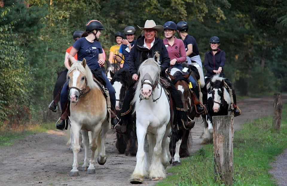 Unterwegs beim ersten Insta-Ride im Münsterland
