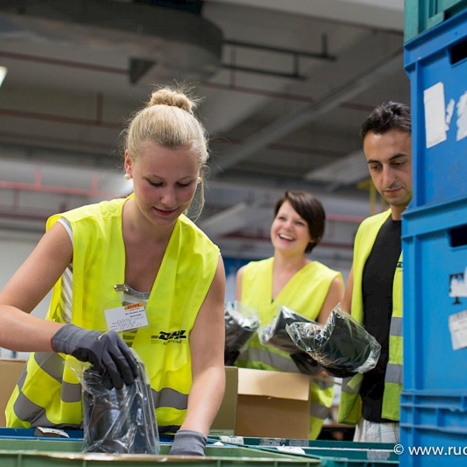 Arbeiten bei DHL Supply Chain in Steinfurt im Münsterland