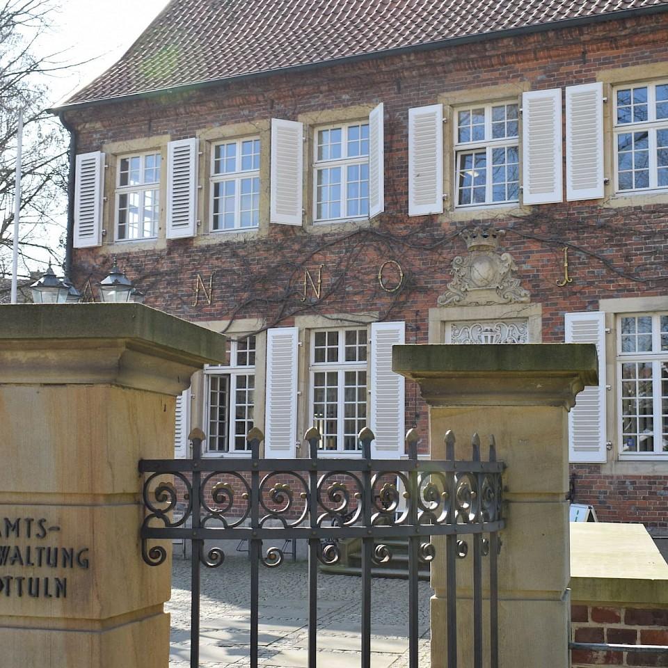 Rathaus Nottuln: Arbeiten bei der Gemeinde Nottuln im Münsterland