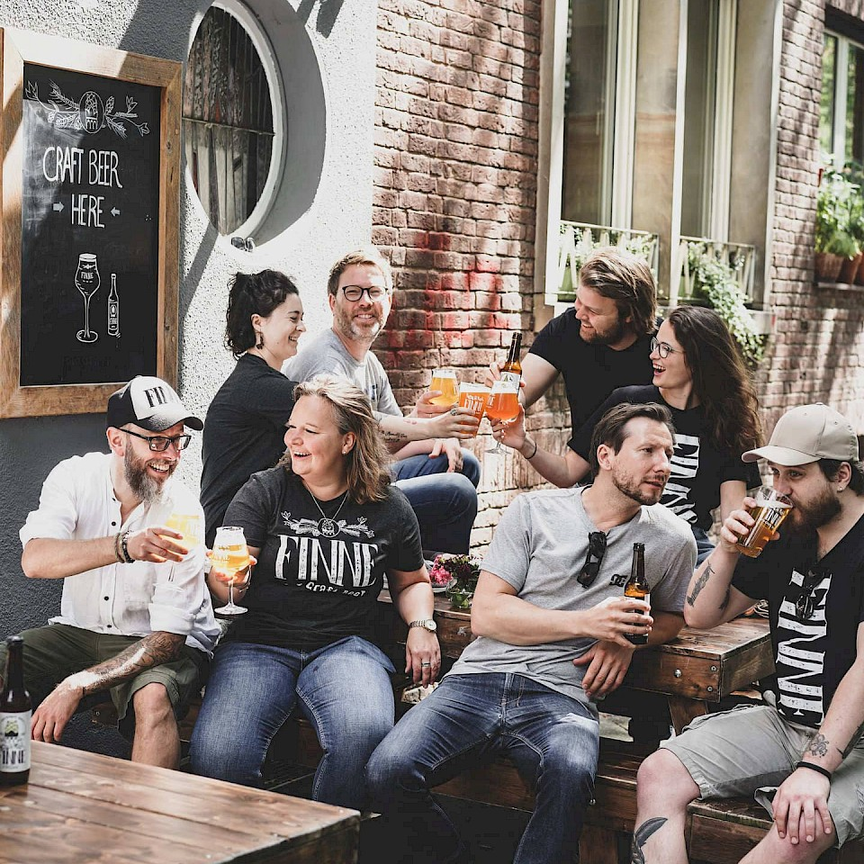 The Finne Brewery Münster team