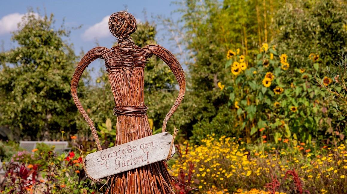 Weideskulptur im Kreislehrgarten