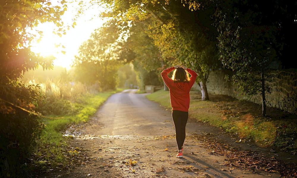 Bewegung ist wichtig für einen gesunden Lebensstil.
