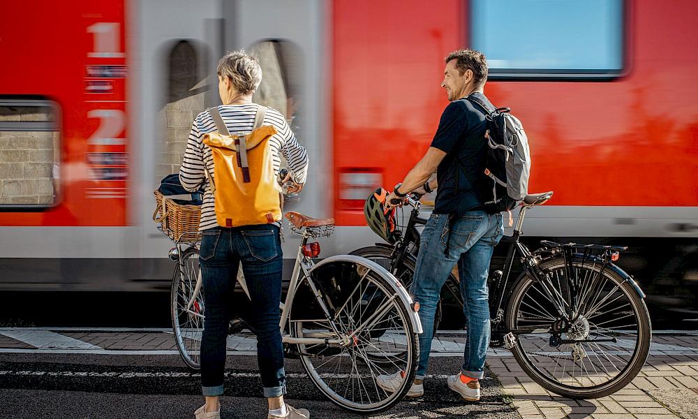 Mit Rad und Bahn durchs Münsterland