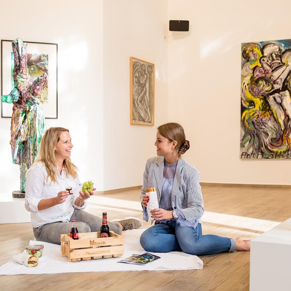 Picknick in de Kunsthalle