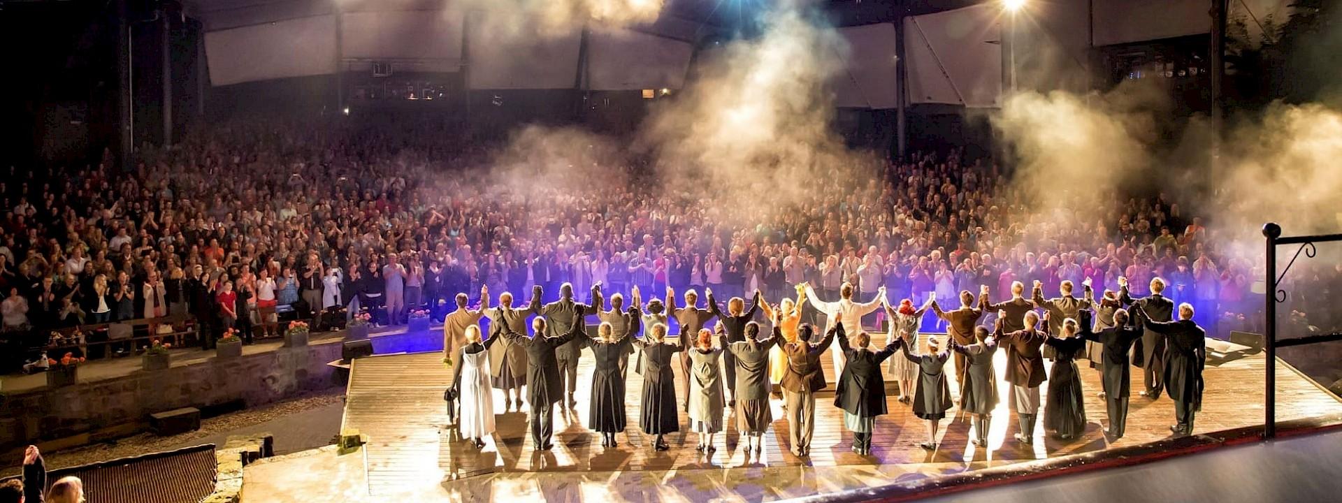 Große Momente - traumhafte Stimmung Freilichtbühnen im Münsterland