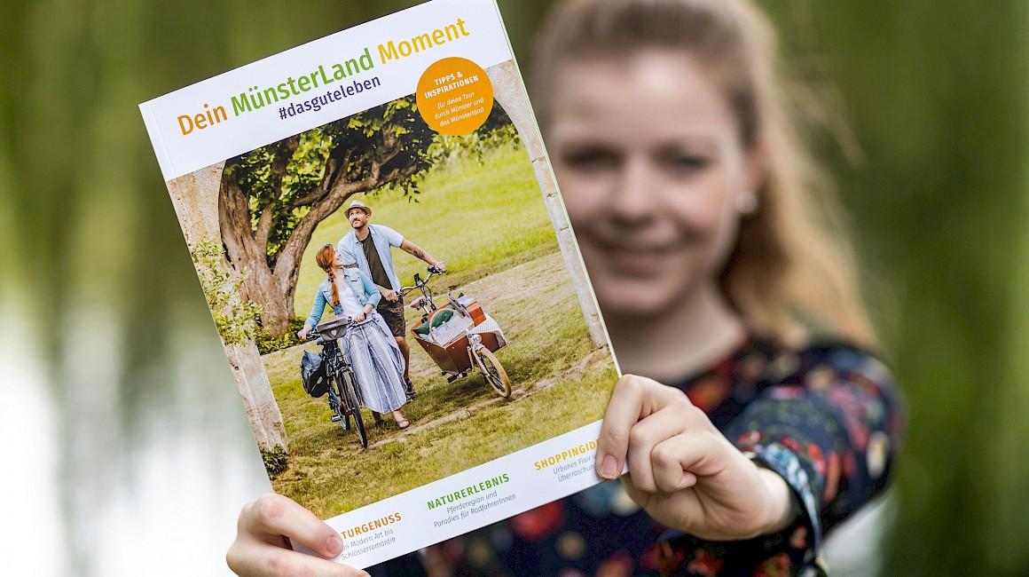 Der Titel des Magazins Dein MünsterLand Moment