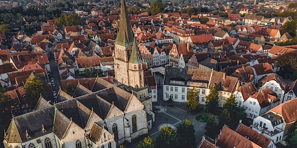 Die Altstadt von Warendorf