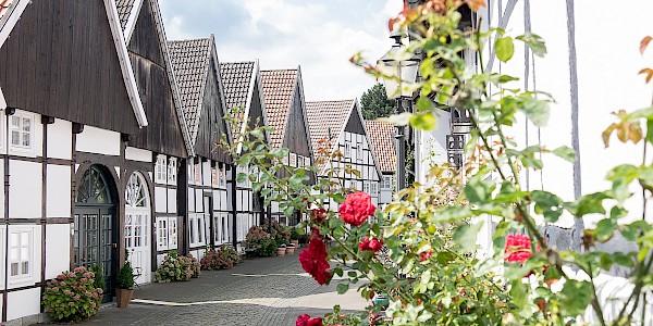 Dia Altstadt von Rheda-Wiedenbrück