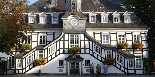 Das Rathaus von Riestberg