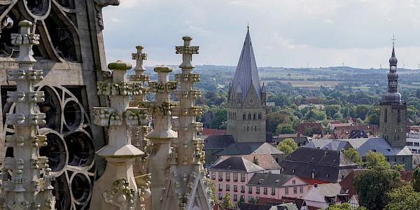 Blick von der Wiesenkirche in Soest