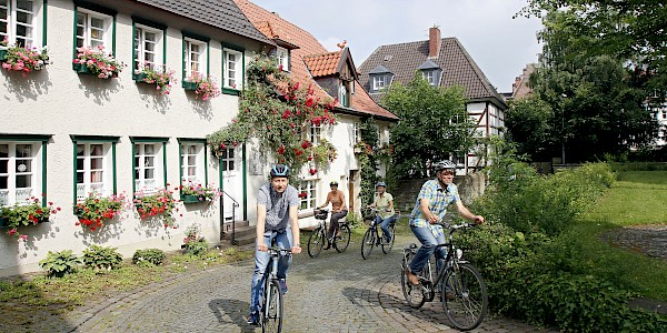 Die Altstadt von Werl