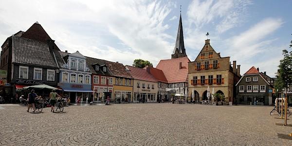 Der Marktplatz von Werne