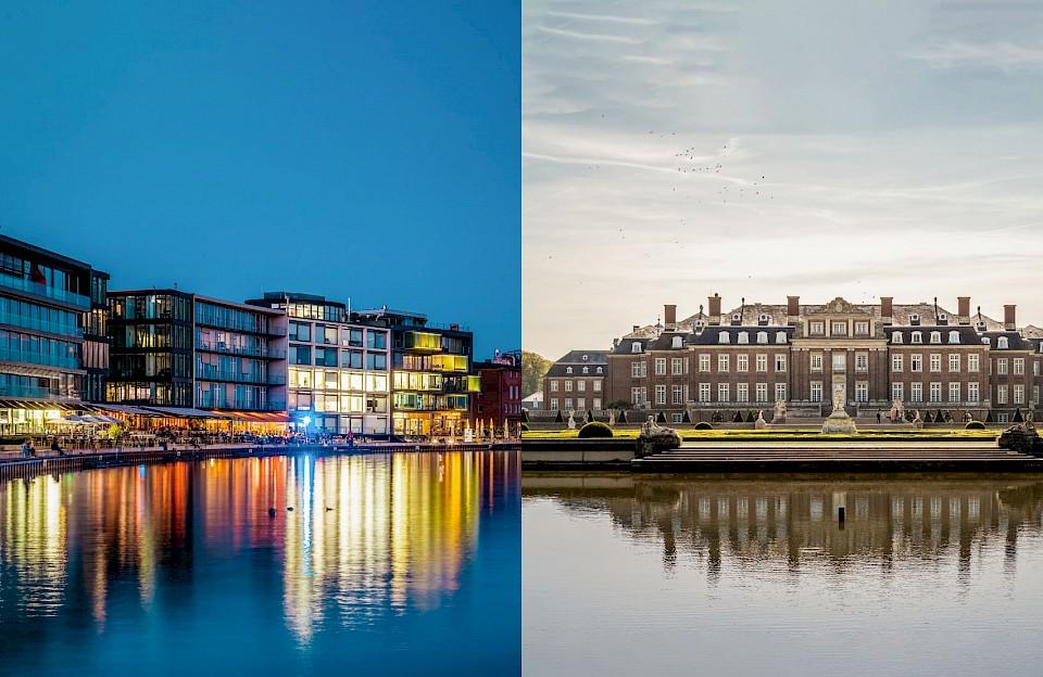 Stadt und Land im Münsterland