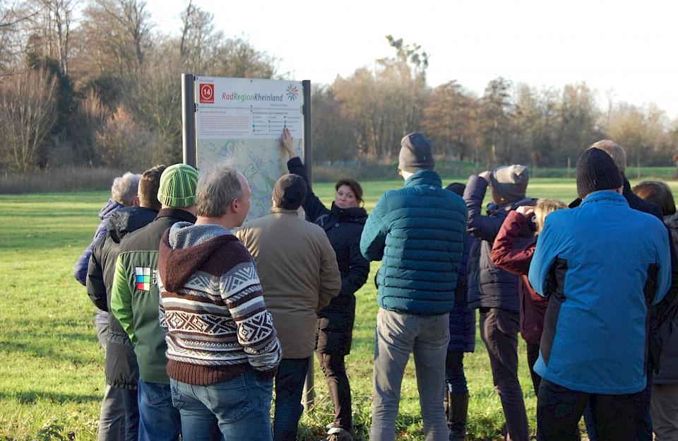 Impulse für die Einführung des Knotenpunktsystems für Radwege haben sich die touristischen Akteure aus dem Münsterland beim Besuch der Radregion Rheinland geholt.