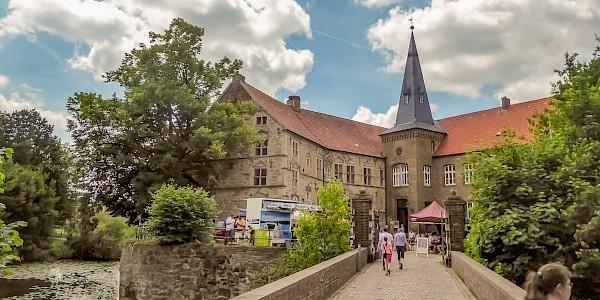 Die Burg Lüsdinghausen - eine von 3 Burgen im Stadtgebiet