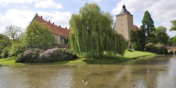 Schloss Steinfurt an der 100 Schlösser Route