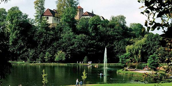 Schloss Iburg an der 100 Schlösser Route