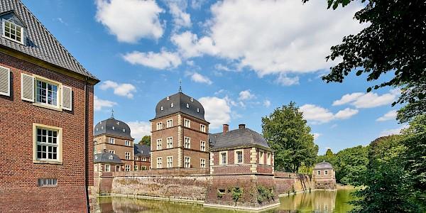 Schloss Ahaus an der 100 Schlösser Route