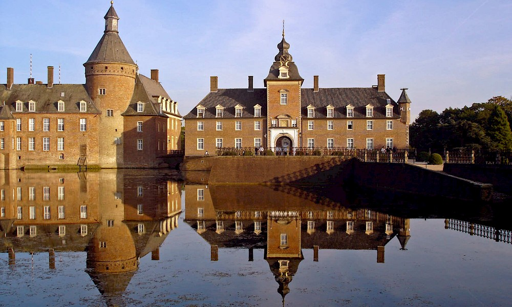 Anholt moated castle