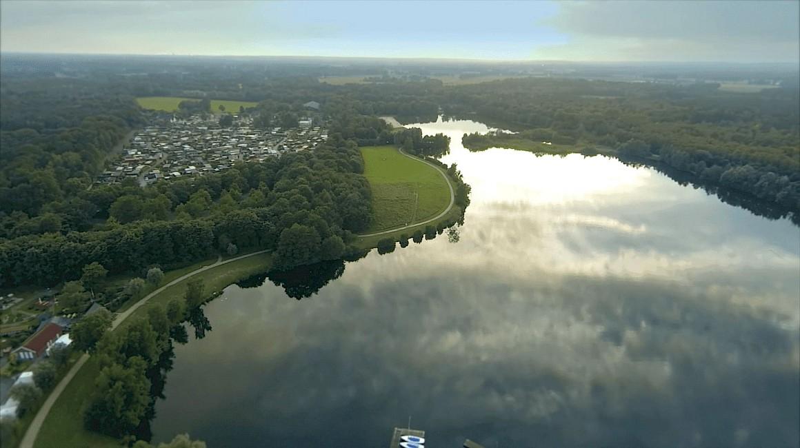 Der Dreiländersee in Gronau