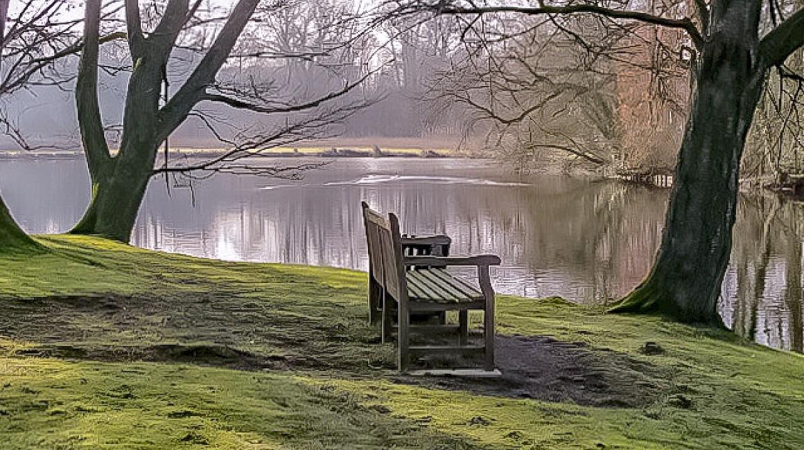 Ein ruhiger Platz um dem Alltag zu vergessen