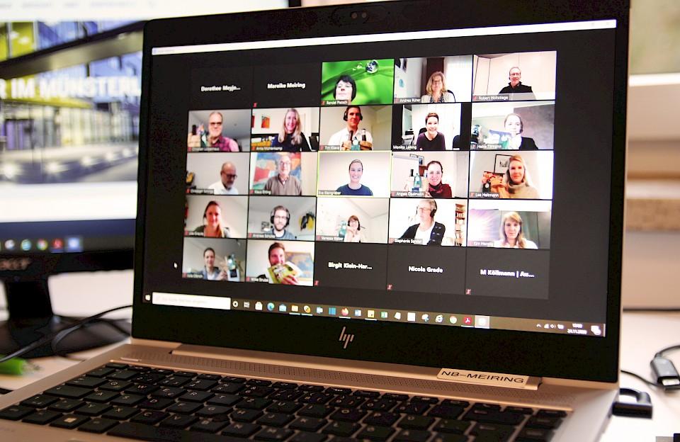 Digitales Netzwerktreffen
