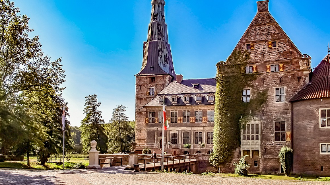 Das sehenswerte Schloss Raesfeld