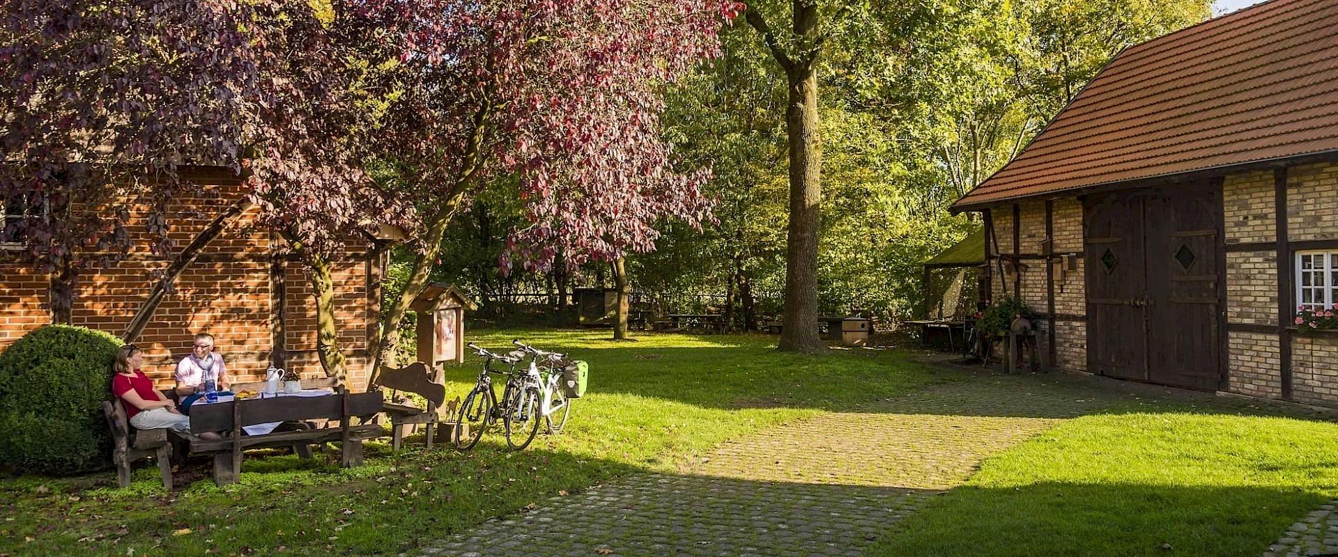 Entspannen im Münsterland.