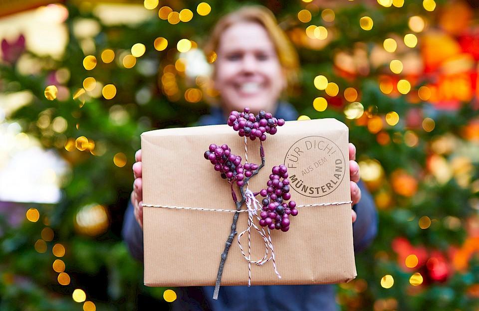 Verschenke zu Weihnachten Geschenke aus dem Münsterland.