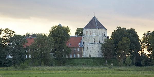 Schloss Rheda am Werse Radweg