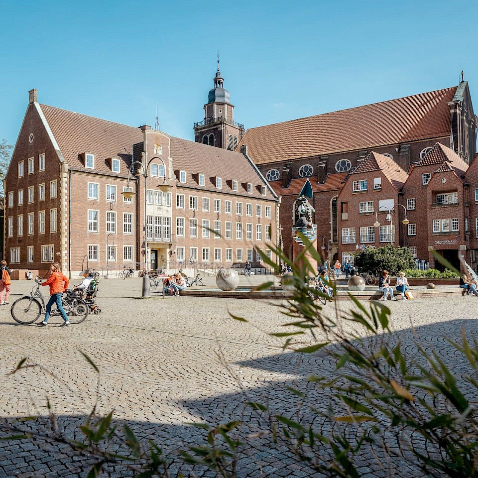 Die Stadt Coesfeld ist eine engagierte Arbeitgeberin im Münsterland