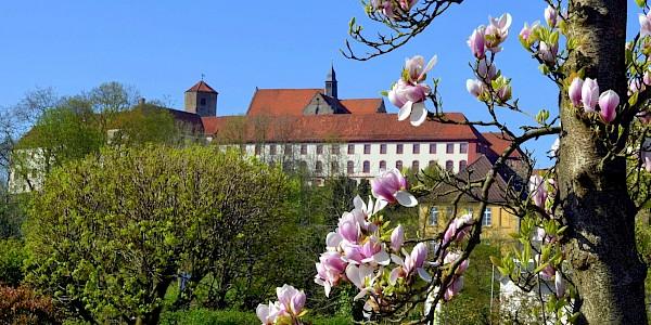 Schloss Iburg an der Friedensroute