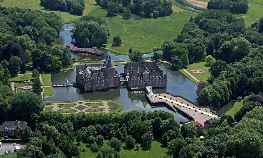Wasserburg Anholt im westlichen Münsterland