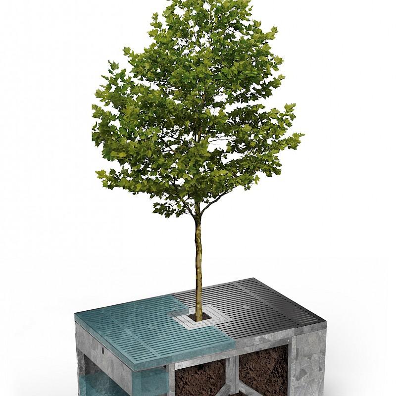 So sieht der Wasserspeicher aus.<br>© Humberg GmbH