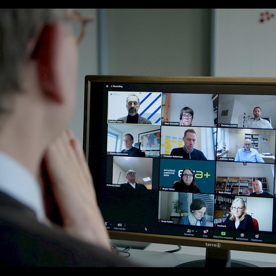 Die zweite Runder der Denkfabriken Münsterland lief digital ab.