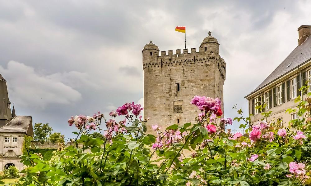 Burg Bentheim an der 100 Schlösser Route