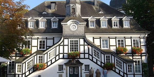 Das historische Rathaus von Rietberg