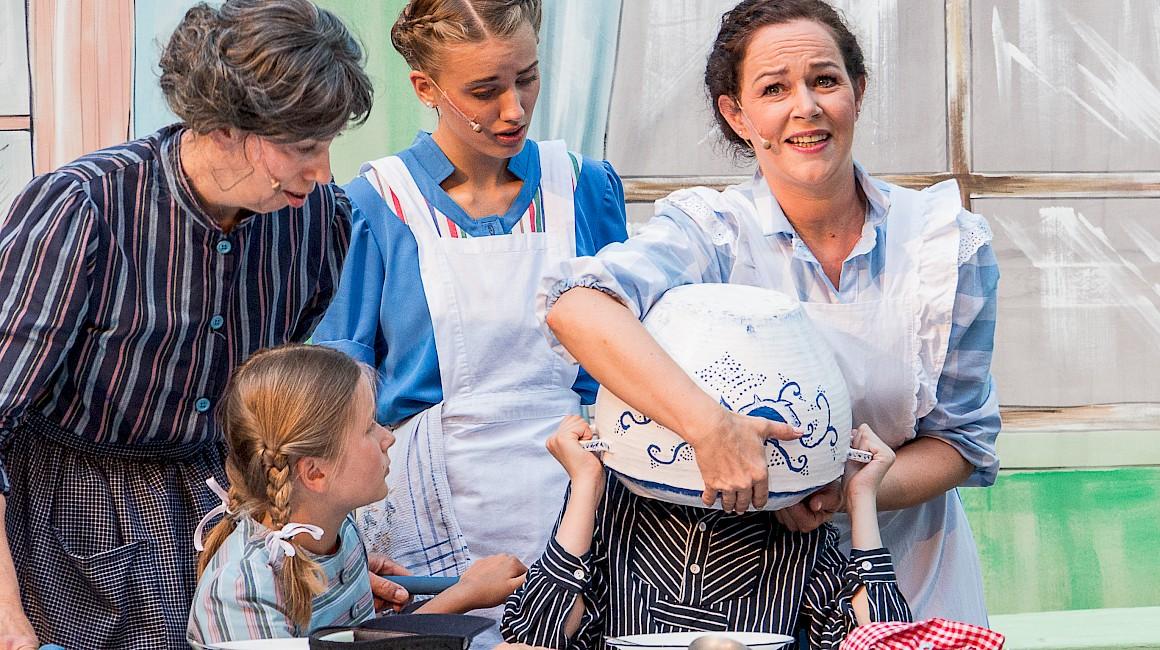 Die Freilichtbühne Coesfeld begeistert Kinder jedes Jahr aufs Neue