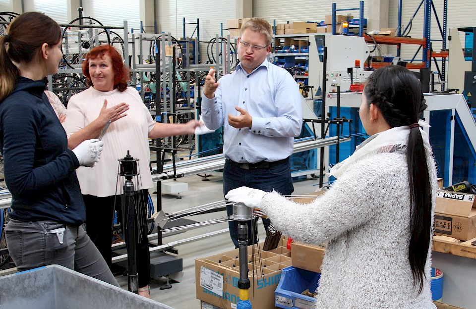 AT Zweirad - Inklusionsunternehmen im Münsterland