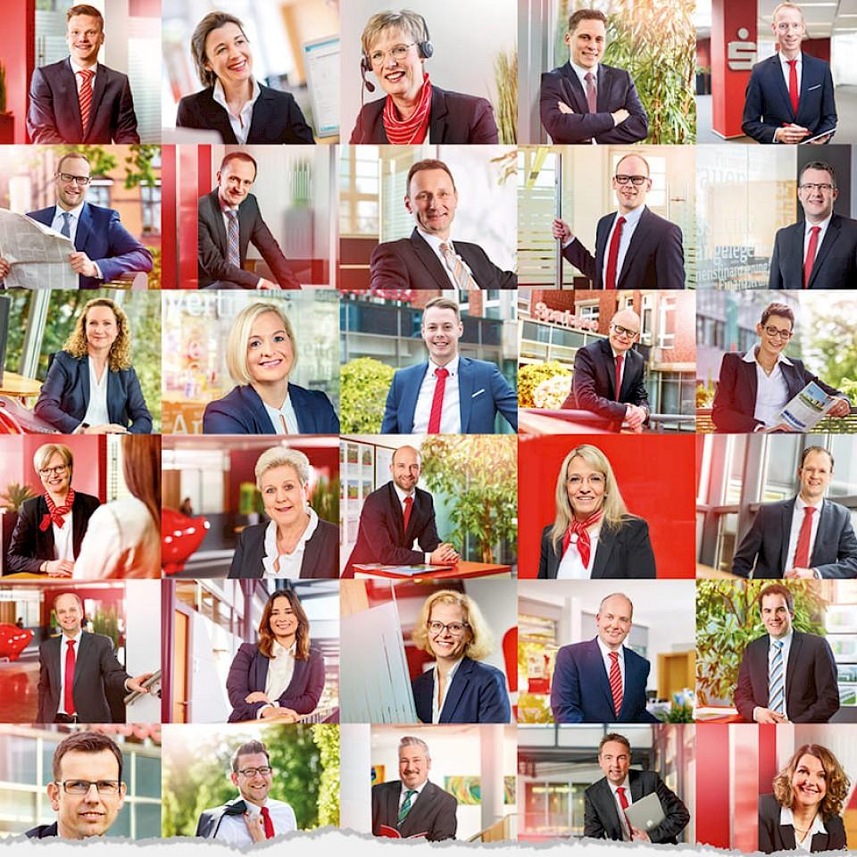 Bij de Sparkasse Westmünsterland werken ongeveer 1400 mensen.