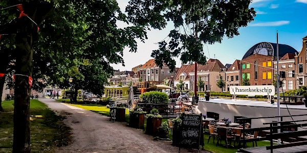 Zwolle an der Vechtetalroute