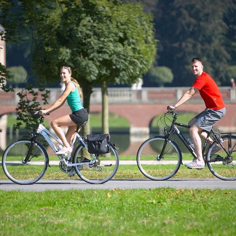 Thementrouten GPS Radfahren im Münsterland