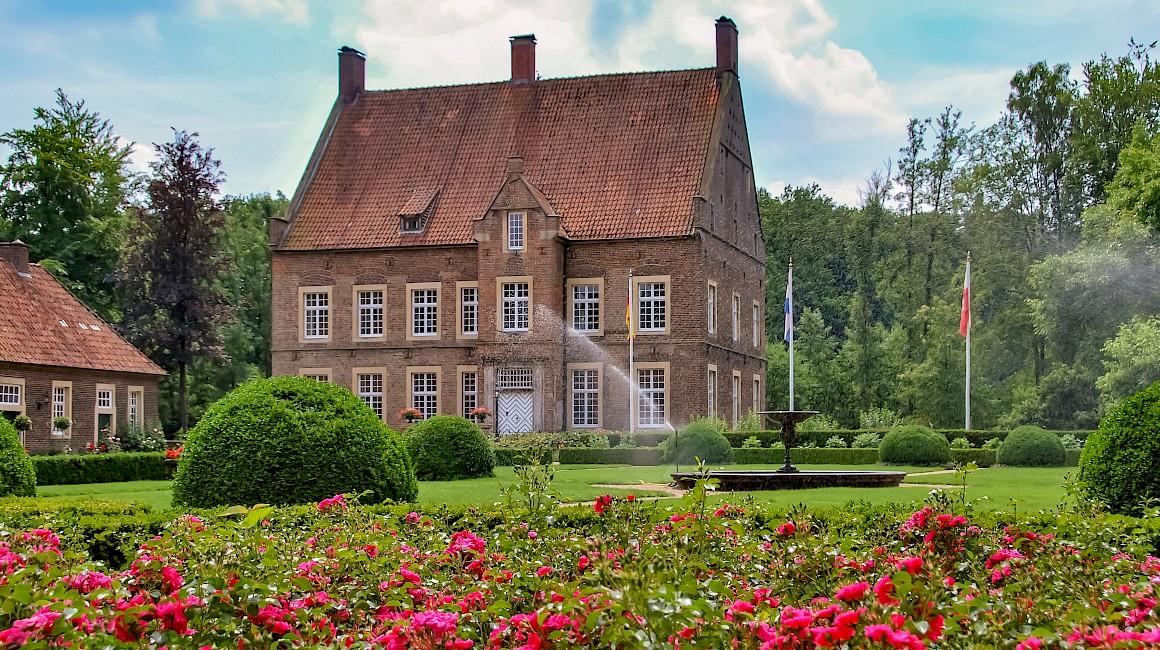 Das Haus Welbergen an der Vechtetalroute