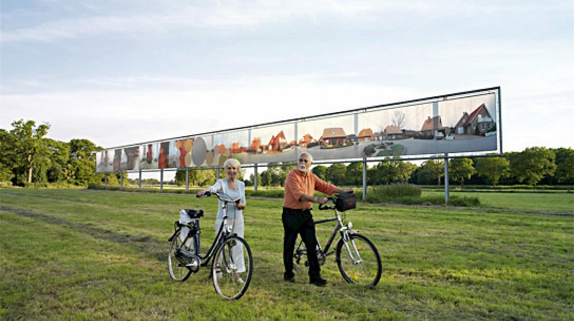 Das Projekt Kunstwegen in der Grafschaft Bentheim